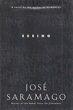 "JOSE SARAMAGO ""Seeing"" (2006) SIGNED First Printing Hardcover NOBEL PRIZE WINNER"