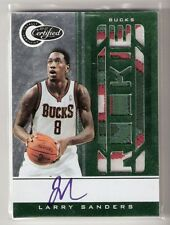 Larry Sanders 10/11 Certified Patch Auto RC #168 SN #2/5
