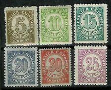 ESPAÑA 745-750 Cifras