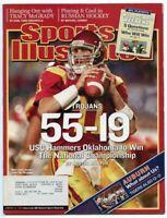 SI: Sports Illustrated January 10, 2005 USC Hammers Oklahoma: Matt Leinart, GOOD