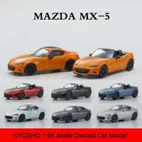 KYOSHO 1:64 Scale MAZDA Roadster RF RS Diecast Alloy Car Model New in Box