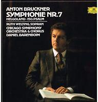 Bruckner: Symphonie No 7/Daniel Barenboim, Ruth Welting, Chicago Symphony - LP