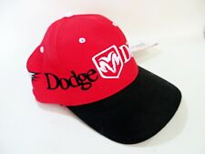 VINTAGE NASCAR BASEBALL CAP 'DODGE DIFFERENT RACING, #9 & #19' NEW. ONE-SIZE