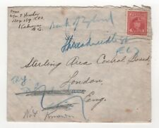 1946 CANADA KGVI Cover KELOWNA BC to LONDON GB 4c