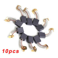 10pcs/Set Electric Carbon Brushes Motor Parts  7*11*18mm Grinding Power Tools