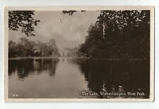 se england Warwickshire postcard english west park wolverhampton