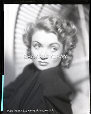 CONSTANCE BENNETT 1940s Portrait Original Camera NEGATIVE 669K