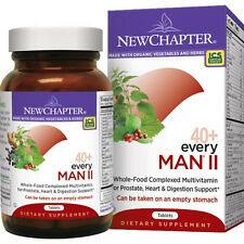 NEW CHAPTER EVERY MAN II DAILY MULTI VITAMIN 40+ 96 Tablets  $85 VALUE EXP 05/18