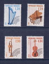 timbre France préoblitéré  musique   n° 202/05 **