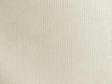 Designer Upholstery Fabric Heavy Wt. Felt Backed Plush Chenille Solid - Ivory