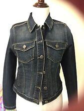 New Earl Jean Denim Jacket Sz Small