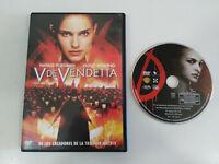 V DE VENDETTA NATALIE PORTMAN HUGO WEAVING DVD ESPAÑOL ENGLISH
