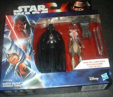 Star Wars Rebeldes B3959 -- doble figura Set Vader;; Tano -- Nuevo Sellado