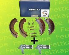 1x Knott Brake Shoes 200x50 20-2425/1 47276+2x Knott Spreizschloss for 1 Axle