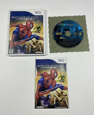 Spider-Man: Friend or Foe (Nintendo Wii, 2007) Complete