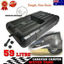 59L 4x4 Caravan Camping Fresh Water Tank Underbody Trailer FOR 4WD Motor HDPE