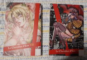 Le Chevalier d'Eon Lot Volumes 6 & 7 Del Rey English Manga Ex-Library Books