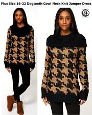 Women's Chunky, Cable Knit Knit None Geometric Jumpers & Cardigans