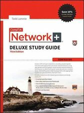 CompTIA Network+ Deluxe Study Guide: Exam N10-006 by Todd Lammle (Hardback,...