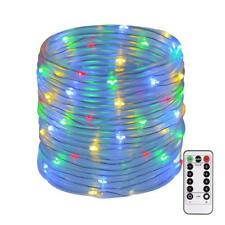 String Lights Outdoor 120 Led 46 ft Waterproof Fairy Lights Dimmable Timer