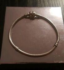 Genuine Pandora Bracelet 17cm Stirling Silver ALE 925