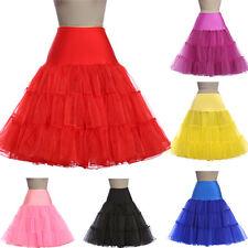 Cheap Retro Underskirt Petticoat 50s Net Tutu Fancy Skirt Swing Vintage Style