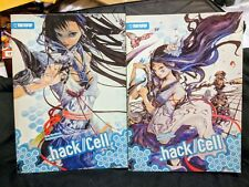 .hack//CELL Light Novel Set TOKYOPOP OOP (Volumes 1 and 2) - AMAZING CONDITION
