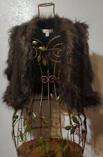 Women's Decree Bolo ~ Sz XL ~ Faux Fur Accents