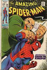 Amazing Spiderman  #69  VG