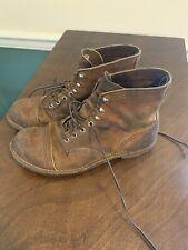 Red Wing Iron Ranger Boots Men's 10 D Hawthorne Muleskinner Leather 8083