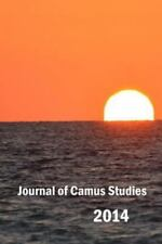 Journal of Camus Studies 2014 by Camus Society Paperback