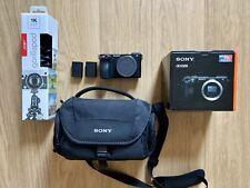 Sony Alpha a6500 24.2MP Digital Camera - Black (Body + Accessories) BARELY USED!
