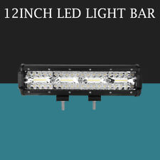 12Inch 1008W Led Work Light Bars Flood Spot Offroad 4WD for Jeep Truck 10'' 12''