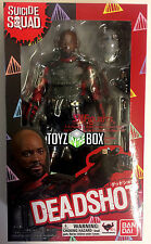 "In STOCK S.H. Figuarts DC ""Deadshot"" (Suicide Squad) Bandai Action Figure"