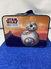 Disney Star Wars Lunch Box Forces of Destiny Tin BB 8 Lucasfilm Ltd.