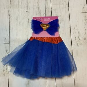 Dc Comics Supergirl Infant Blue Tutu and Headband Set 0-6 Months