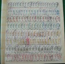 BRD - 1986, Steckkarte mit Freimarken, Frauen d. deutschen Geschichte, 8 Reihen,