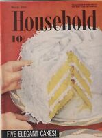 Household Mag Five Elegant Cakes March 1955 092619nonr