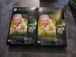Lot of 2 Sealed Packs HP Everyday Photo Paper Glossy 4x6 100 Sheets Q5440A