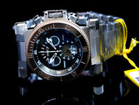 Invicta Men's Chronograph Coalition Forces Stone Distressed Gunmetal Black Dial