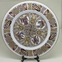 """Vintage SPODE Iona Plate COLLECTORS Cabinet Display PLATE 10.5"""""""
