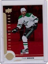 TYLER SEGUIN 17/18 Upper Deck UD Shining Stars Ruby RED Parallel #SSC-10 *MINT*