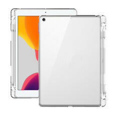 Case for iPad Air 4 10.9 2020 TPU Silicone Transparent Back Case Pencil Holder
