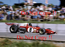 Jacky Ickx Ferrari 312 B2 South African Grand Prix 1973 Photograph