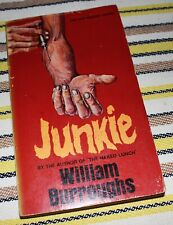 JUNKIE / WILLIAM BURROUGHS / NEW ENGLISH LIBRARY EDITION / UK 1969 / BOOK