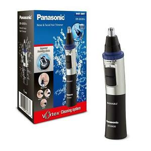 Panasonic ER-GN30-K Black Vortex Wet/Dry Nose and Facial Hair Trimmer NEW