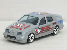 "Ford Sierra RS Rally silber Nr.7 ""Texaco"", ohne OVP, Bburago Street Fire, 1:43"