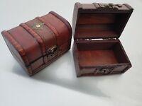 Coffre en bois Vintage Retro Boite rangement