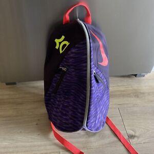 Nike Kevin Durant KD Max Air VIII Backpack Kids Purple Sports Gym School Bag