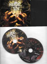 MORTAL SIN 2Disc CD / digi Psychology of death 2011 on NoiseArt Records
